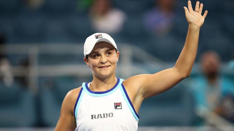 Теннис: Эшли Барти вышла в полуфинал Australian Open 2020