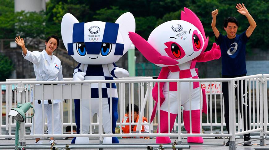 Спортсмены-представители Республики Беларусь приняли участие в торжественном открытии игр в Токио