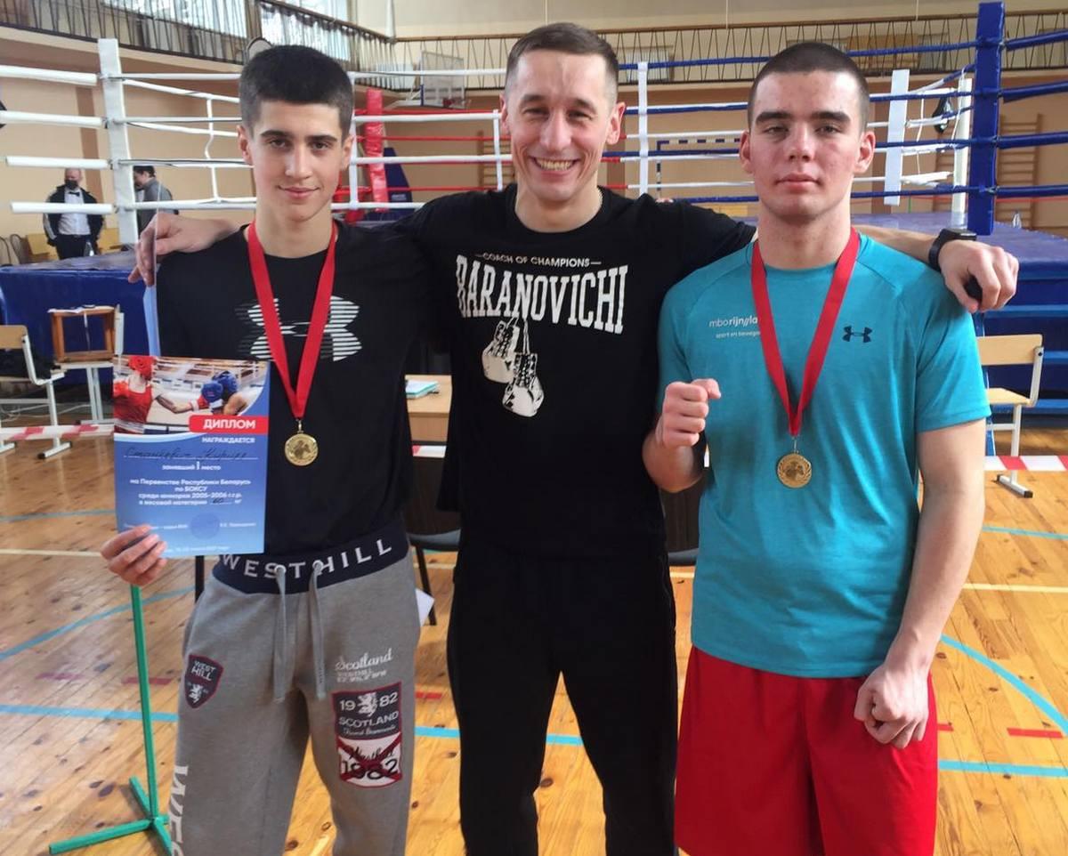 Белорусские боксёры