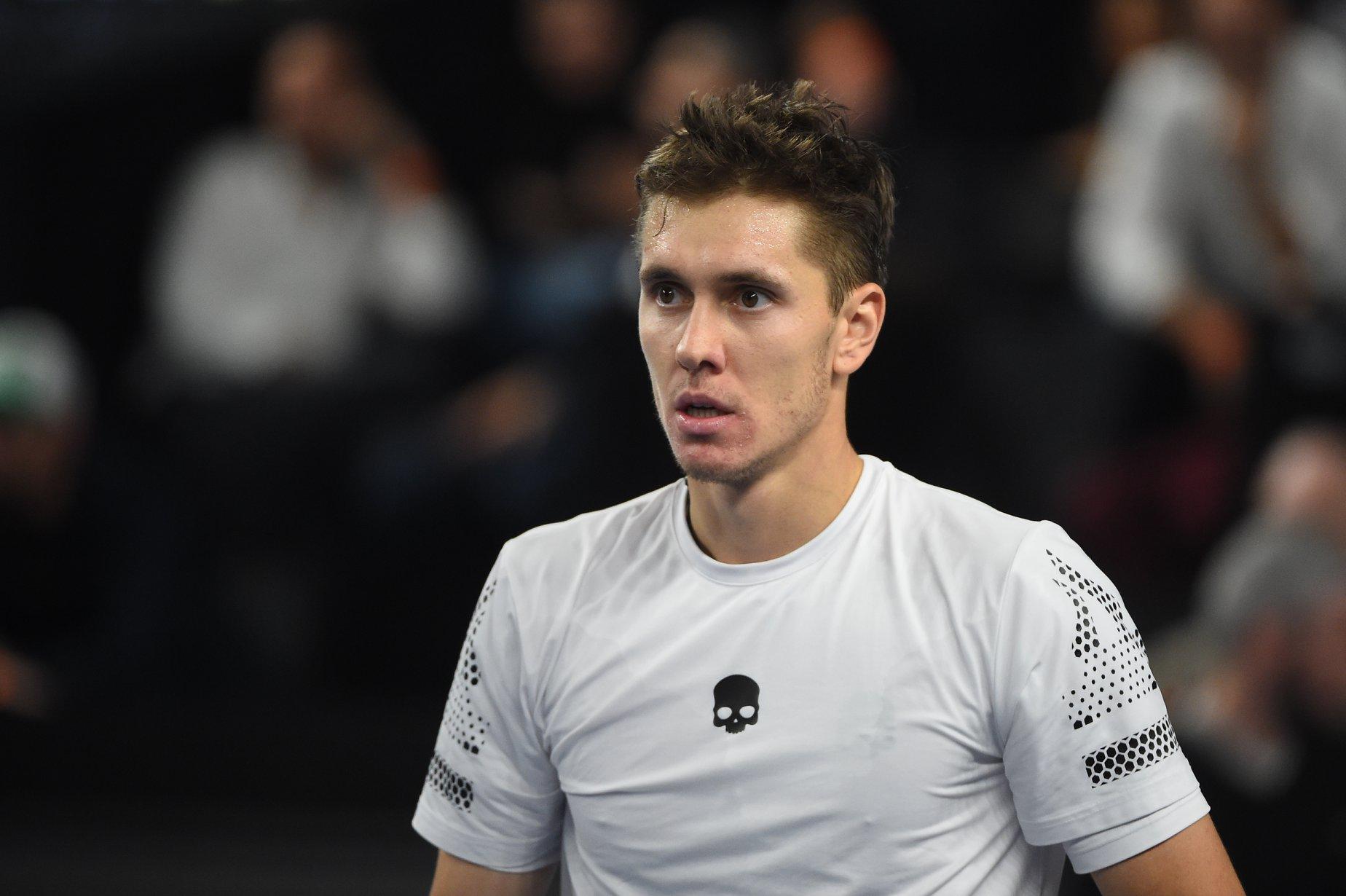Егор Герасимов в 1/16 финала турнира в Казахстане сыграет с Бенуа Пэром
